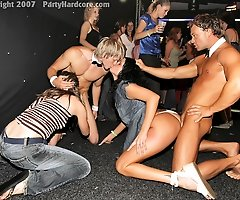 Girls-Next-Door Get Drunk and Go Crazy at an Outrageous  Male Stripper Party