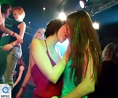 Hot Babes, Hot Games, and Hot CFNM Blowjobs at Wild Amateur Stripper Party